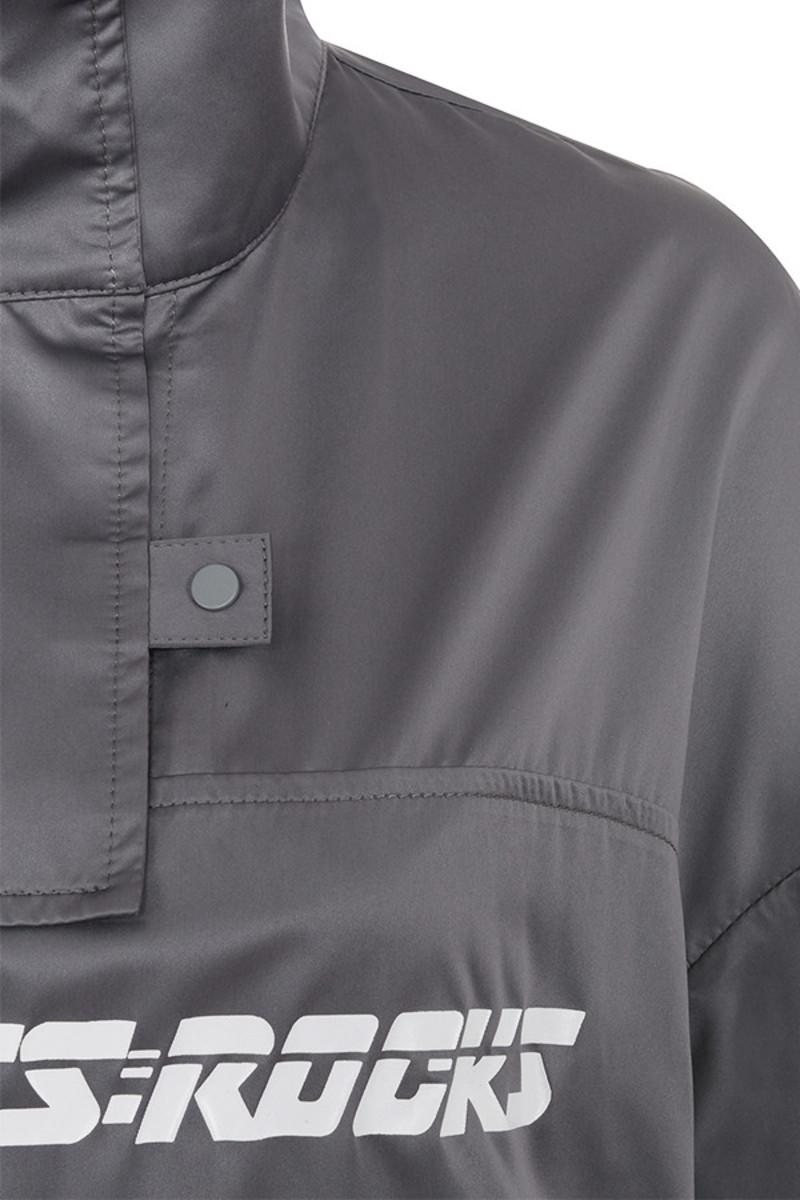 grey raid jacket