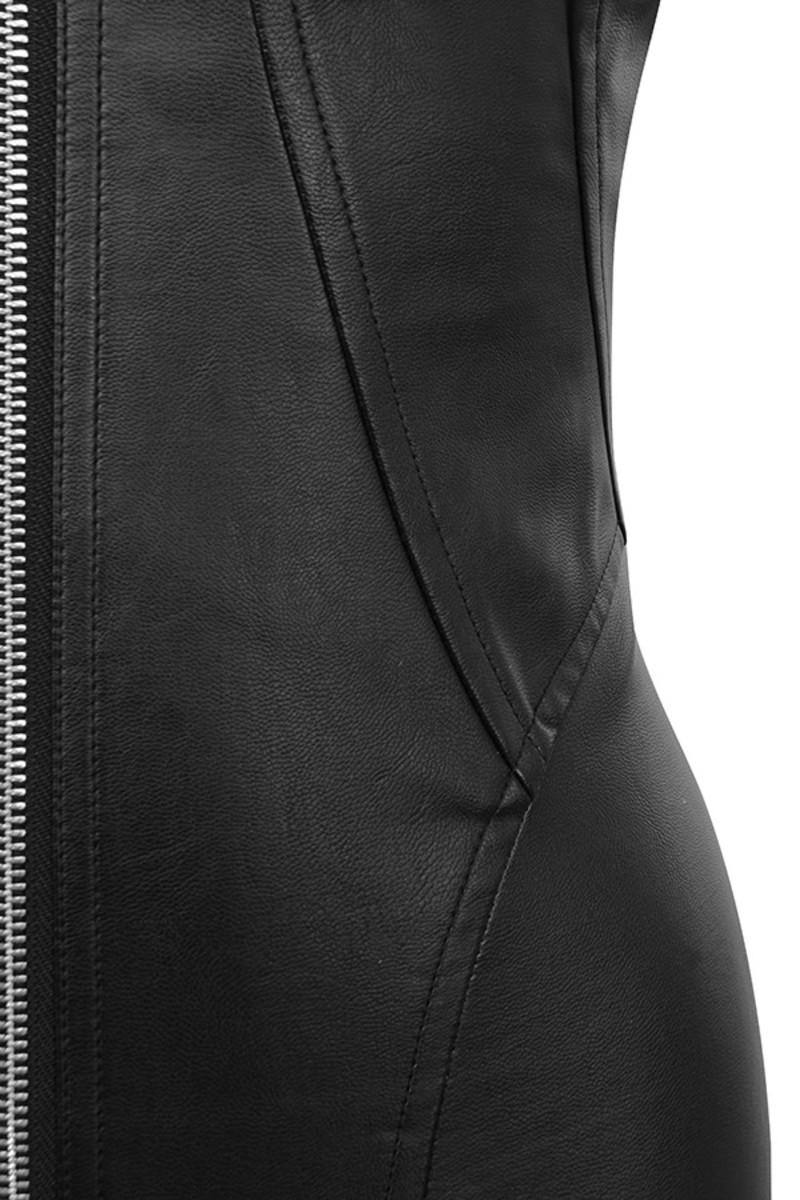 black samba dress