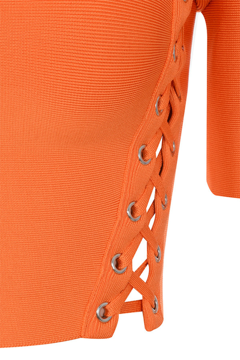 orange saviour top