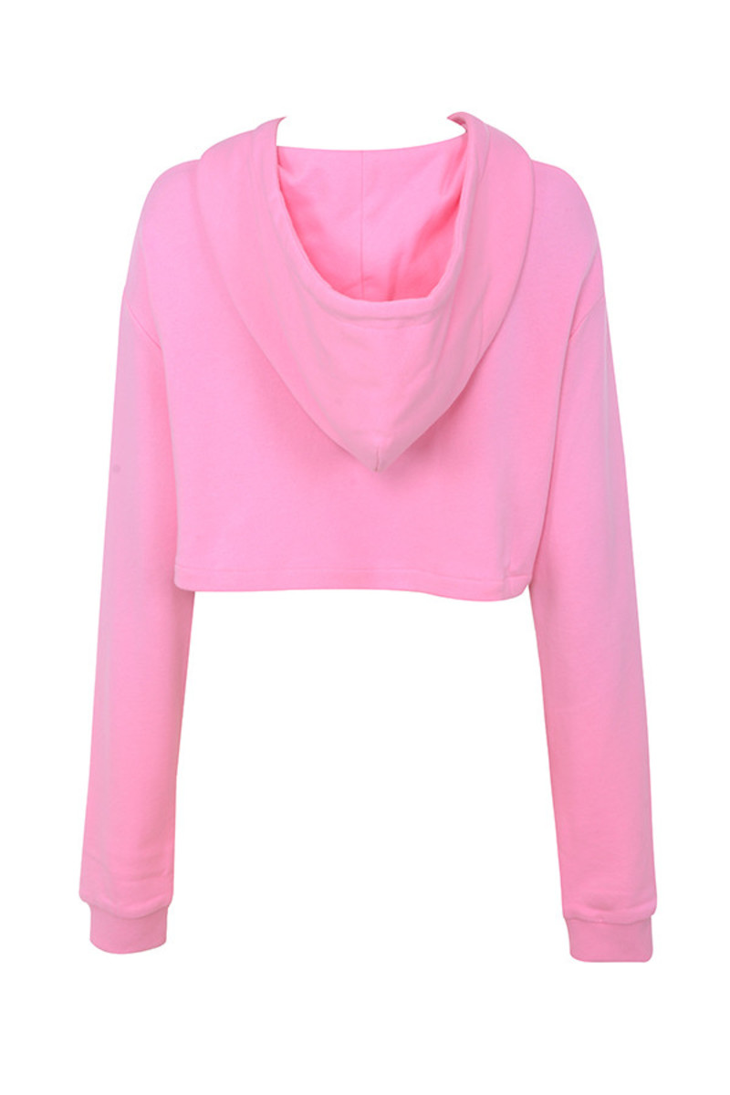 seeker top in pink