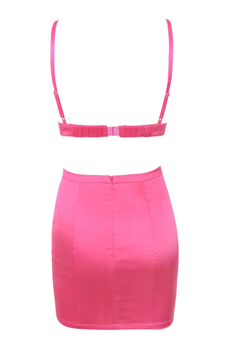 smitten 2 piece in pink