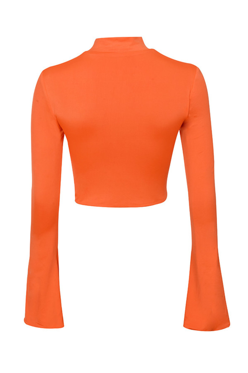 steady top in orange