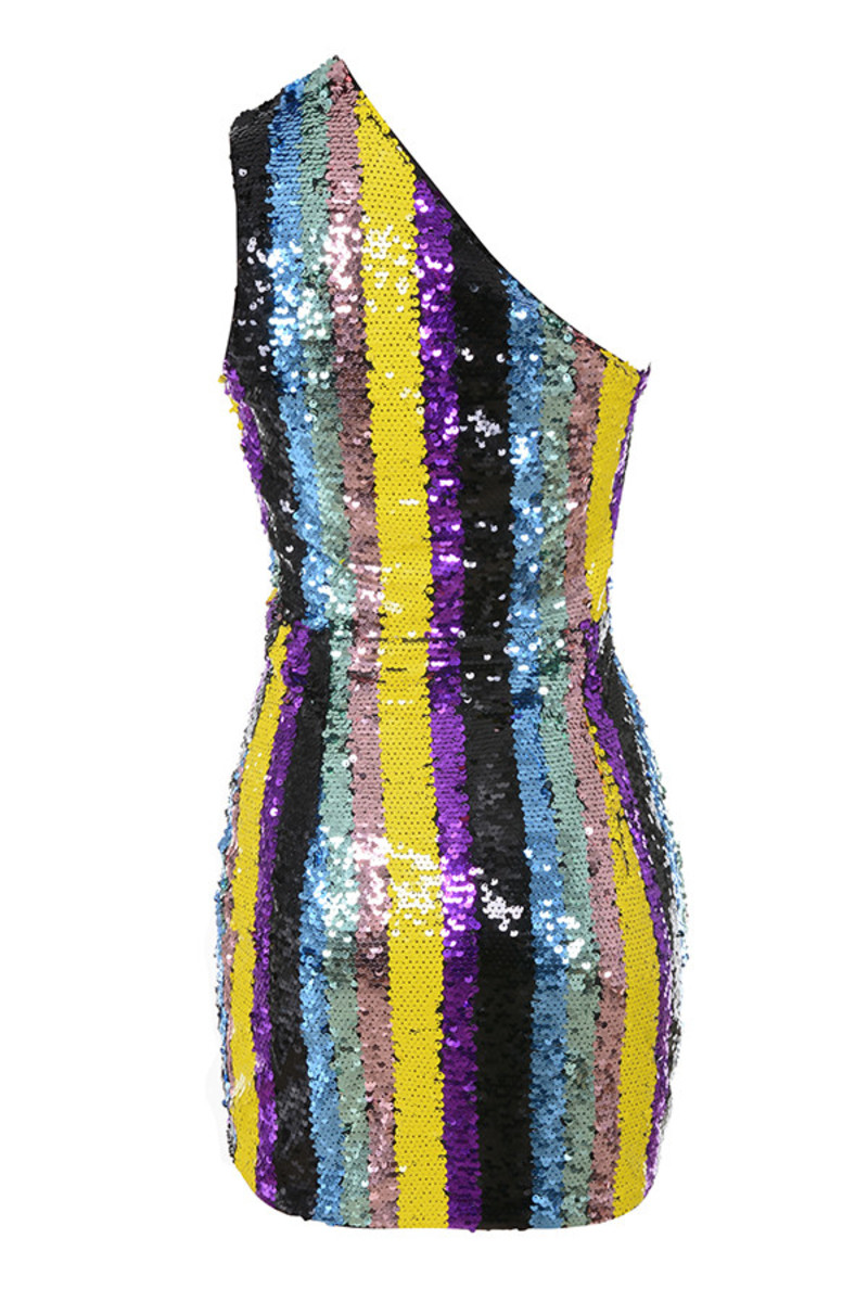 supanova dress in multicolor