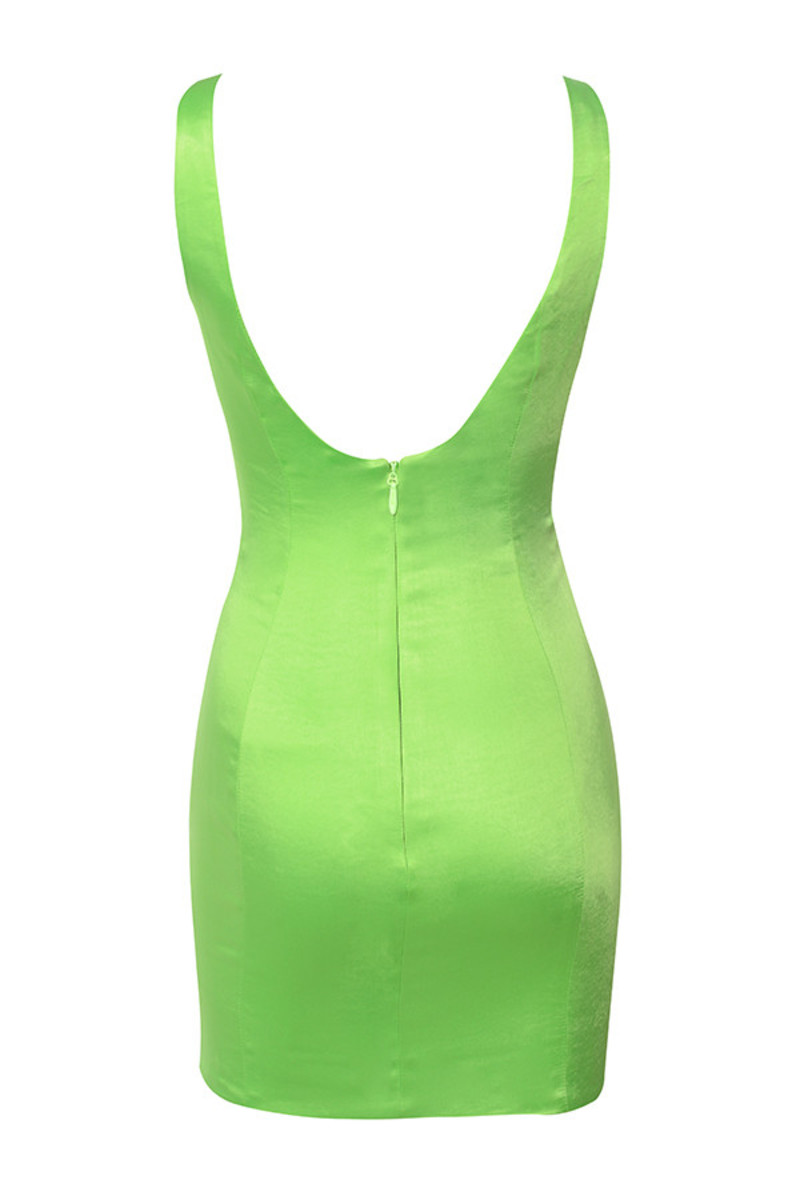 ti amo dress in green