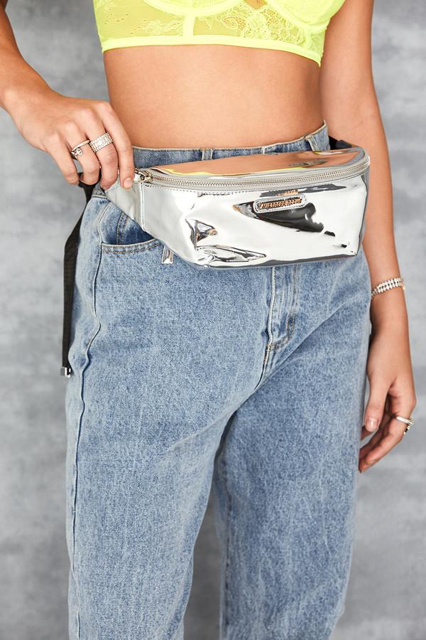 Dime Silver Bum Bag