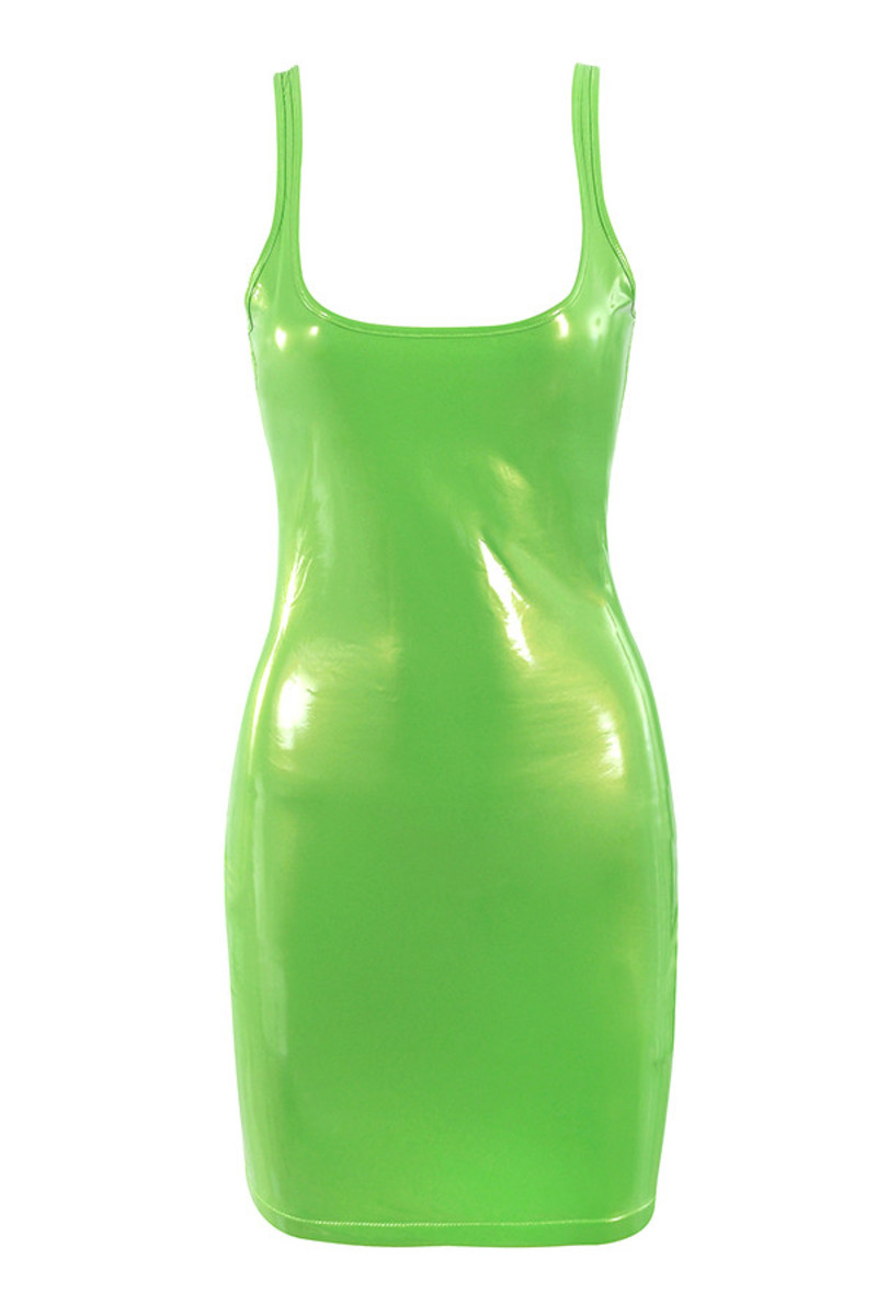 shiver neon green