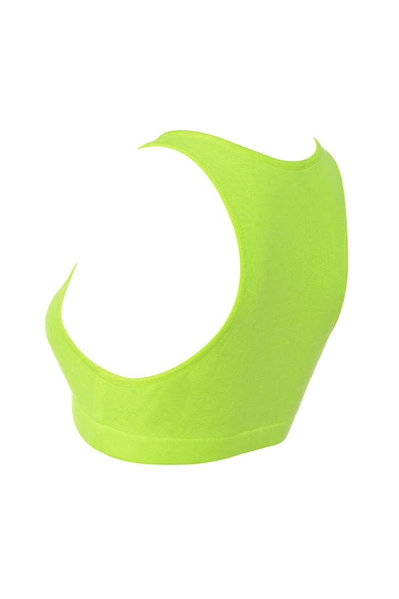 abound in neon lime