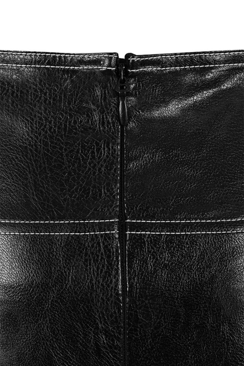 black academy pants