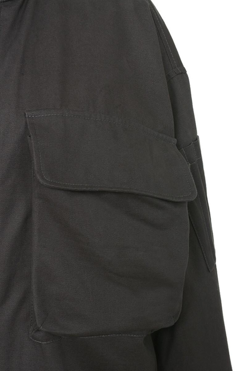 grey candidate jacket