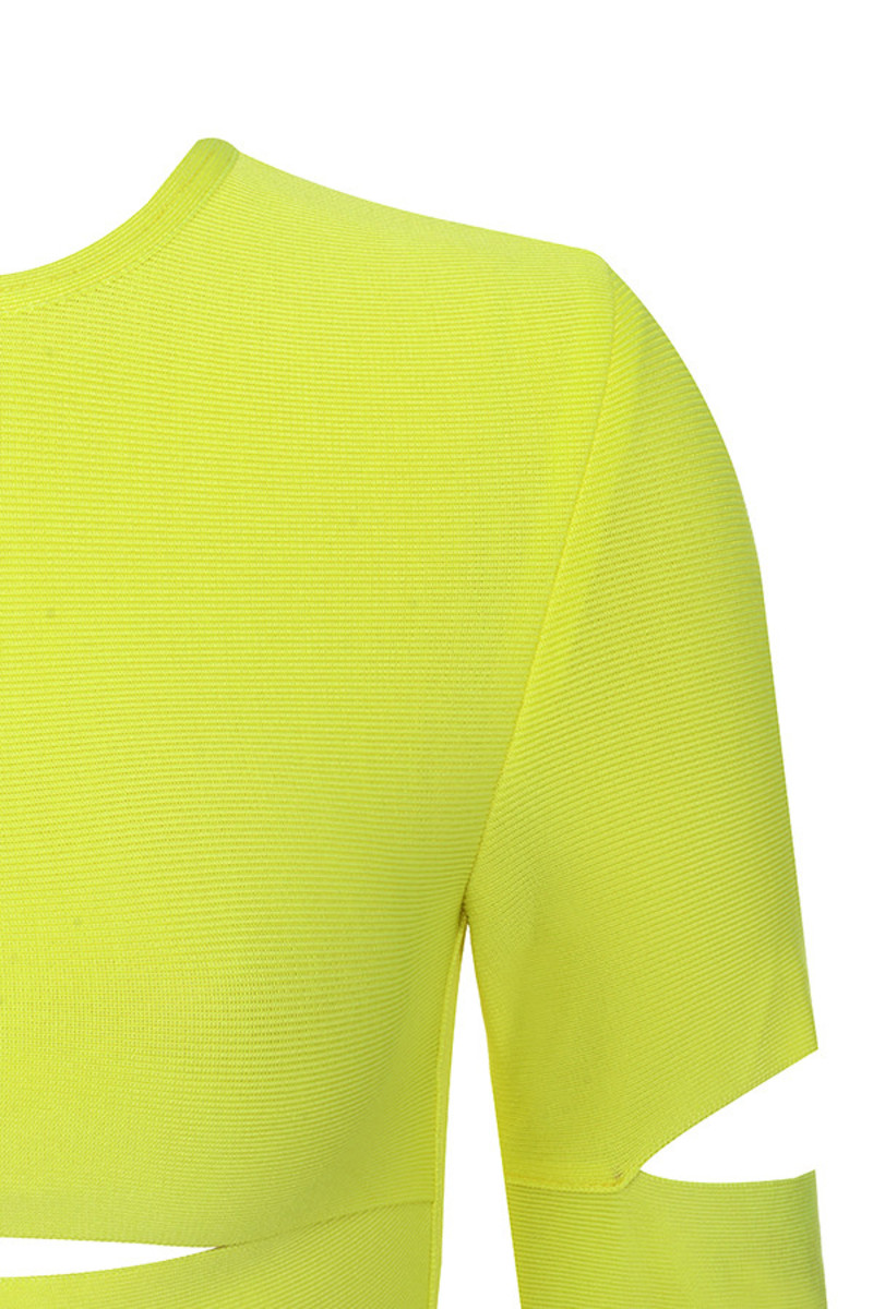 neon yellow caring