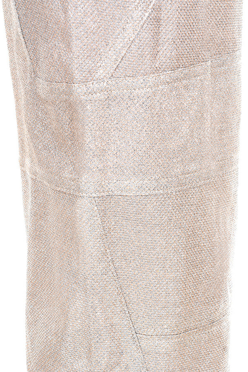 silver concept trousers
