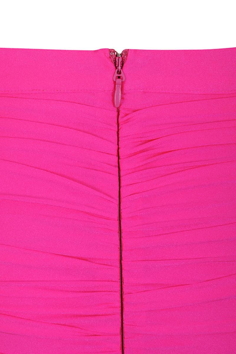 pink festival skirt