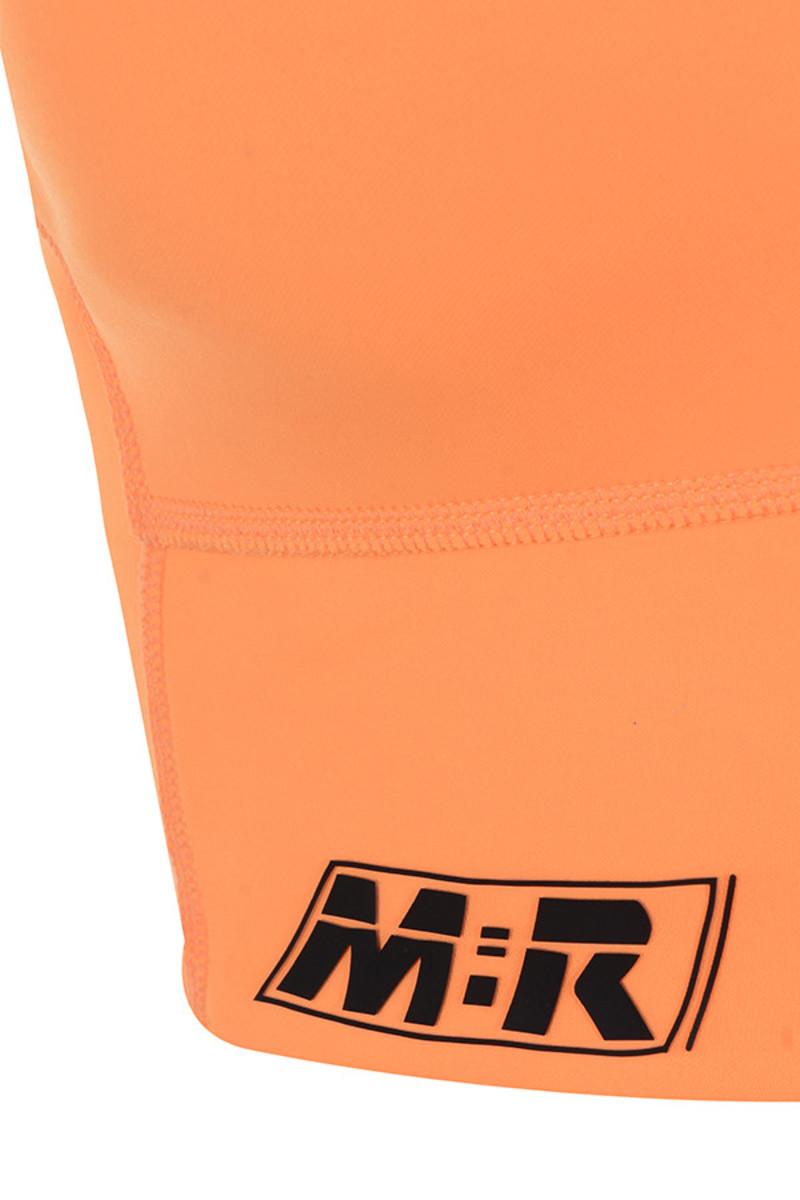 neon orange mentor top