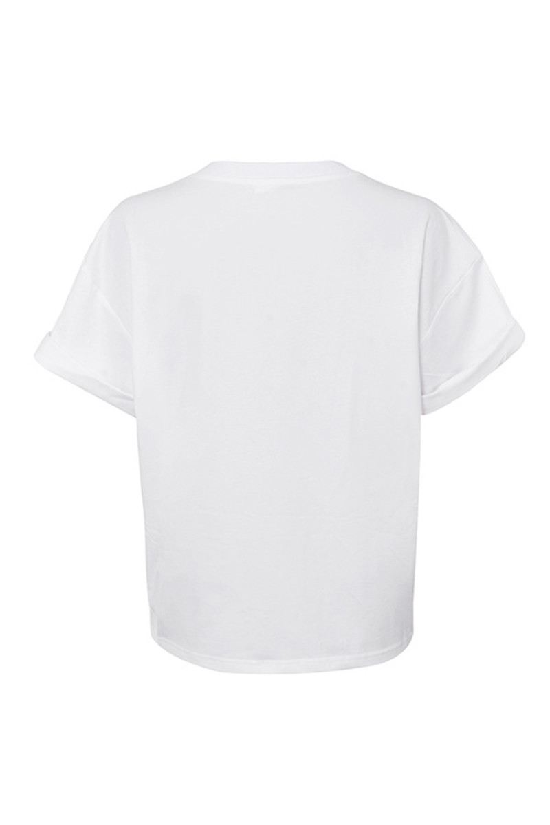 mover shirt in white