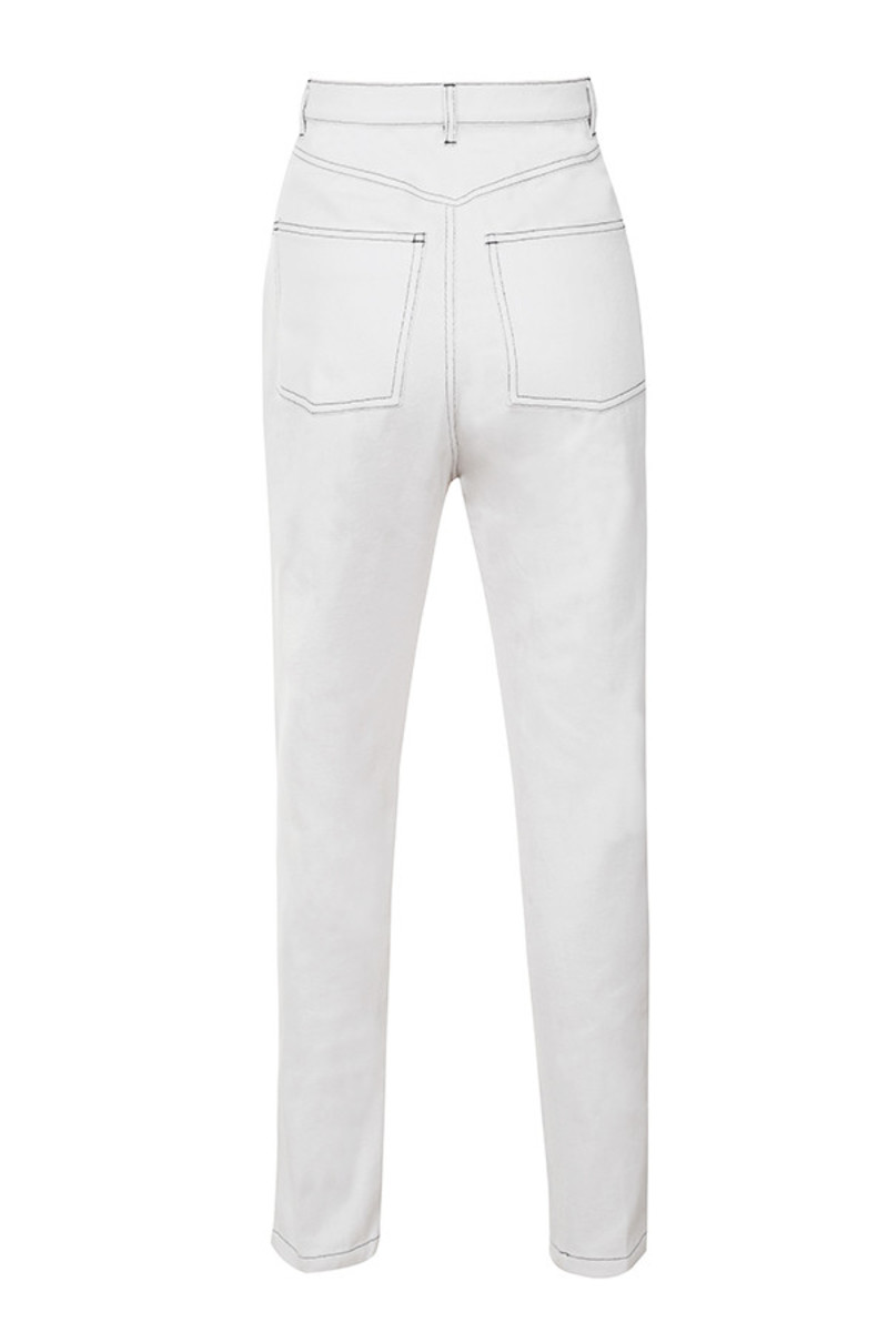 perception jeans in white