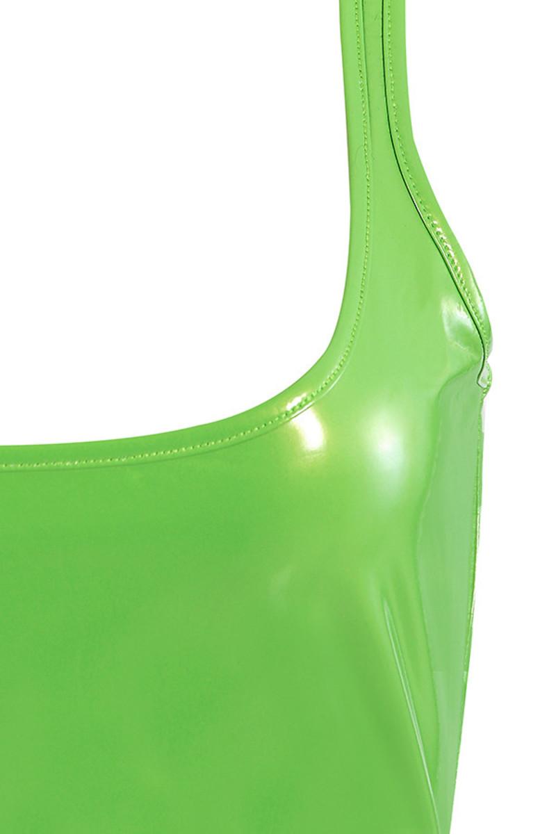 neon green shiver