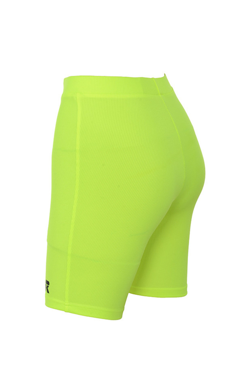 shooting star in neon lime