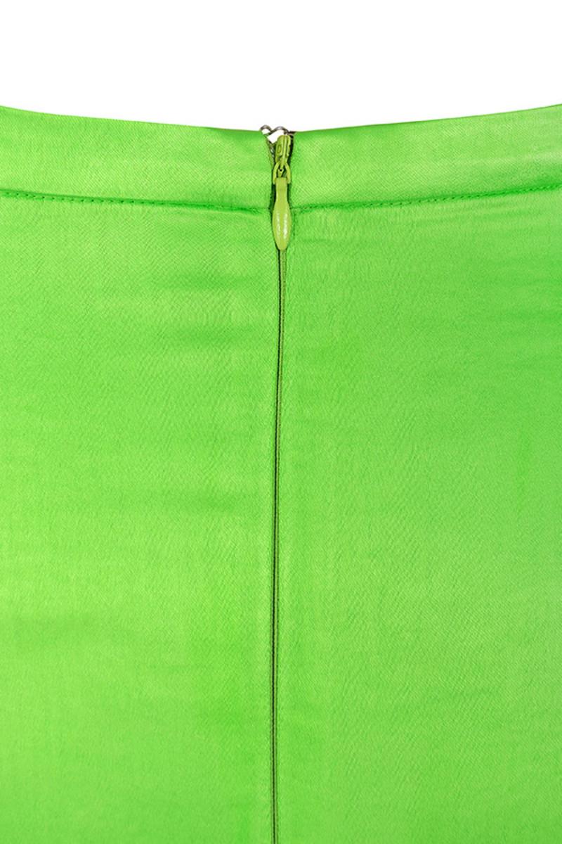 smitten lime dress