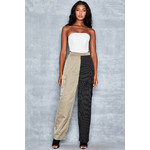 Amp Up Contrast Leg Trousers