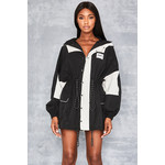 Perceive Black + White Sports Jacket