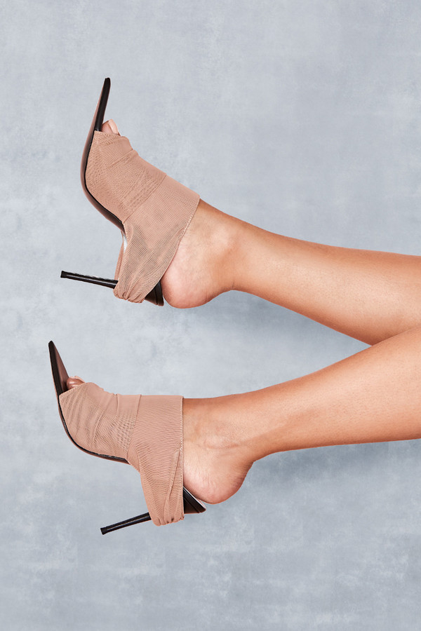 Abyss Tan Power Mesh Mules