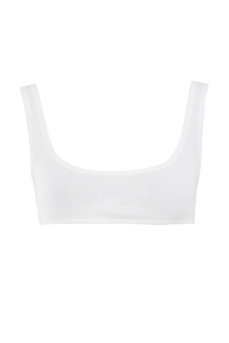 aware white bodysuit