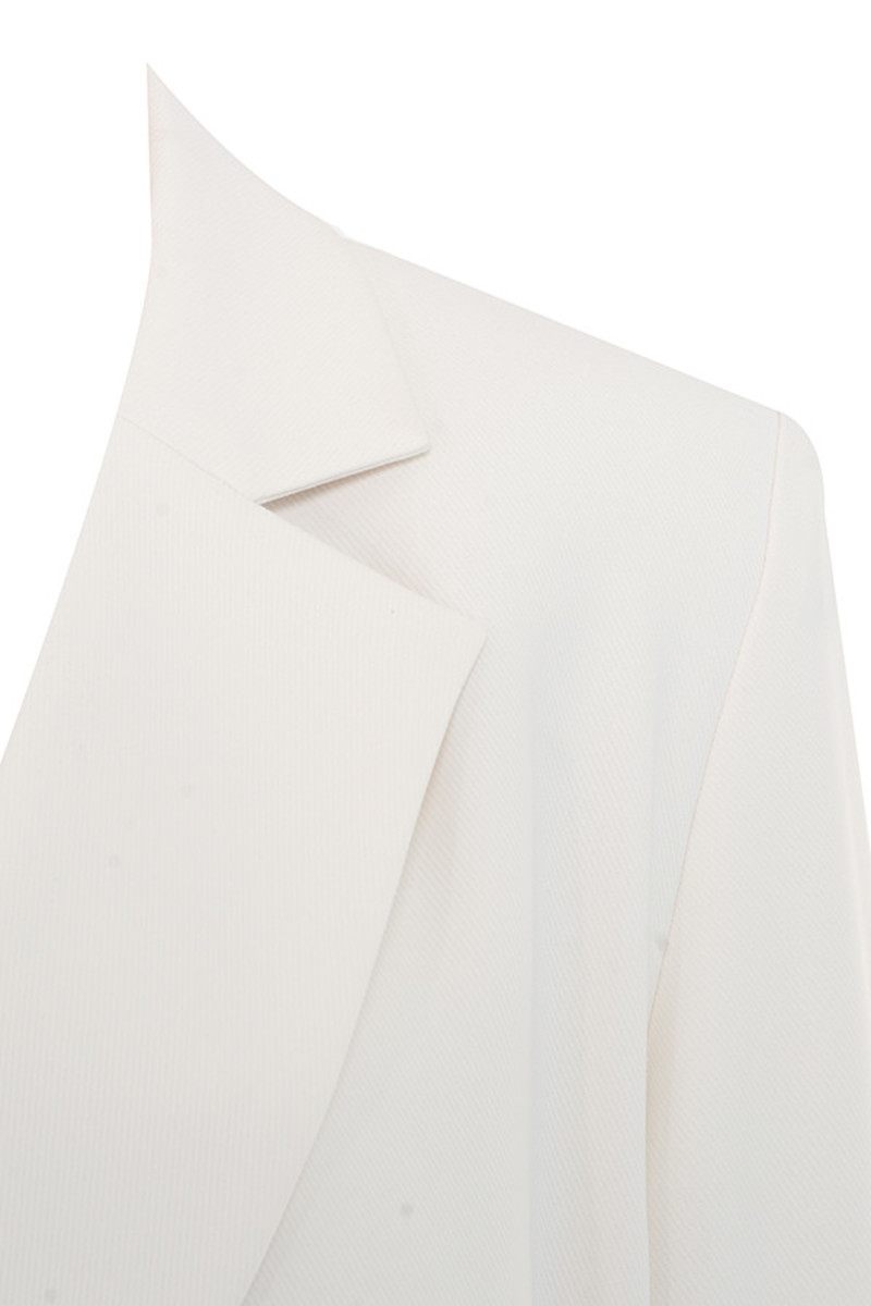 business as usual dress in off white