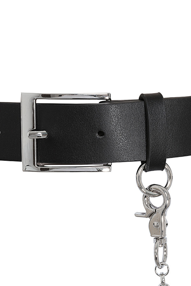 chesca belt in black