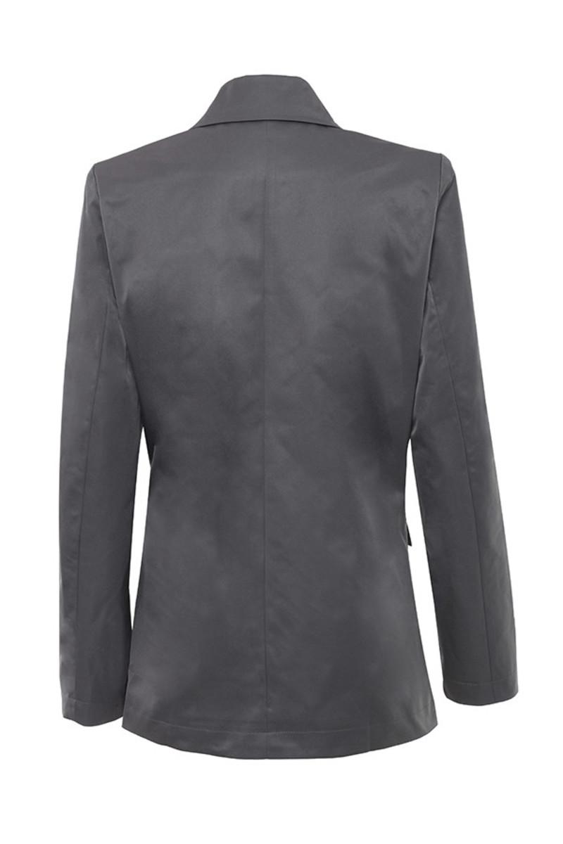 dime a dozen jacket in grey