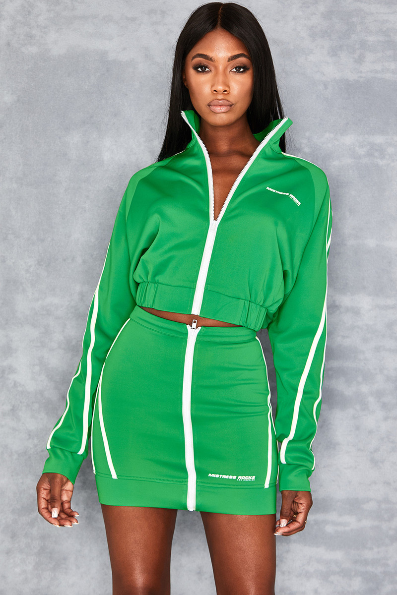 Front Runner Green Zip Thru Sports Jacket
