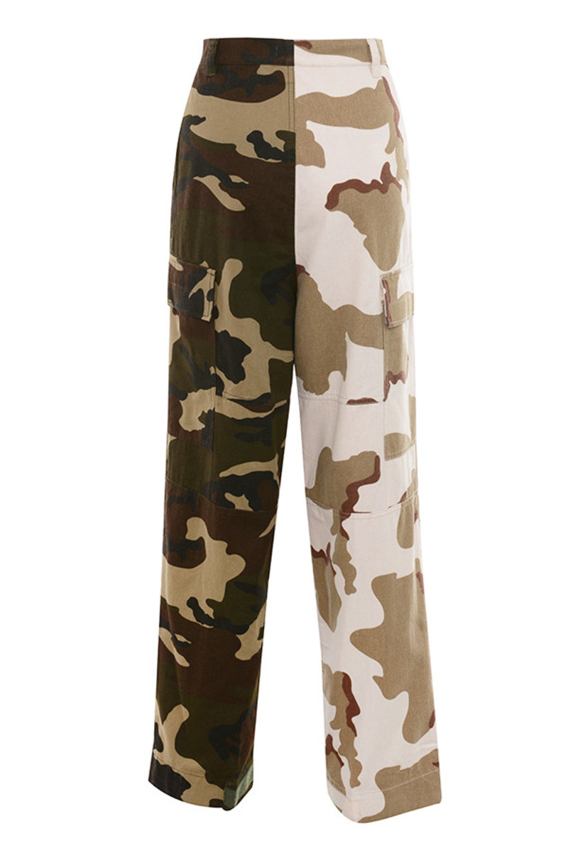 haste trousers in camo