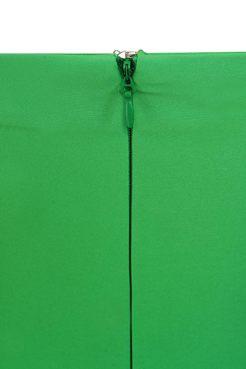 emerald journey dress