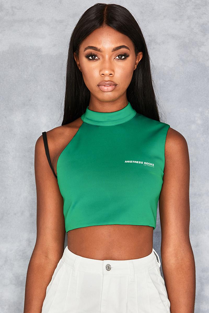 Keeper Emerald Bra Strap Top