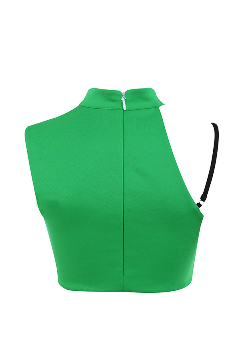keeper top in green