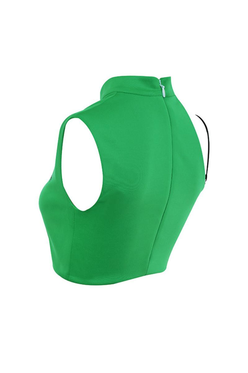 keeper in green