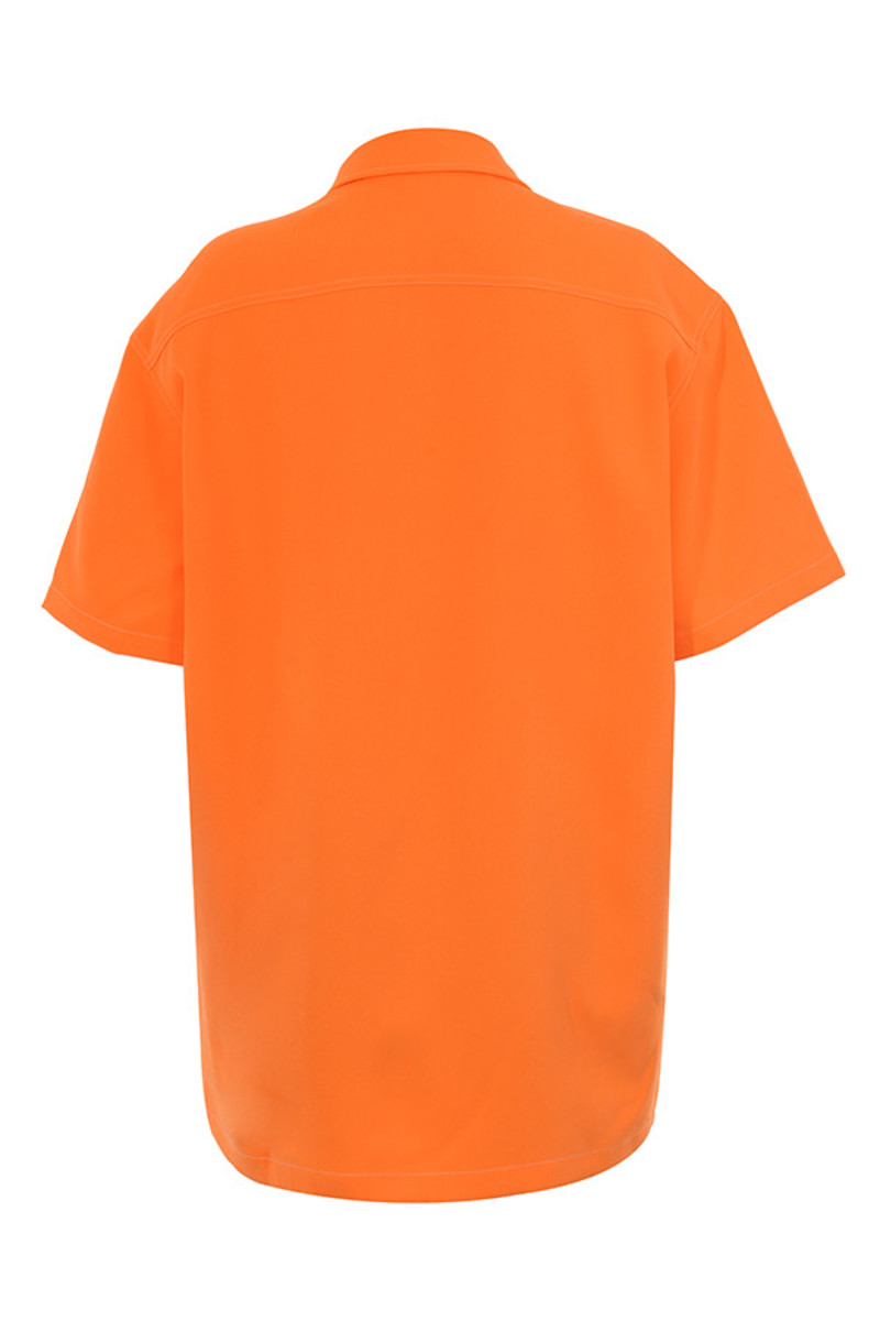piece of cake shirt in orange