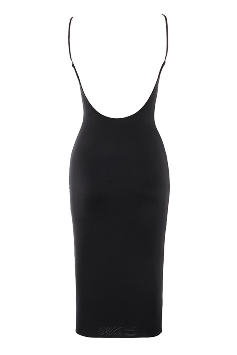 possession dress in black
