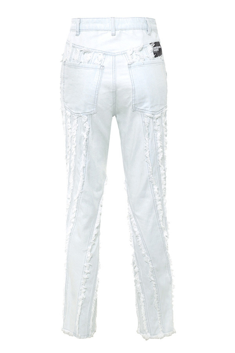 riverine jeans in ice blue