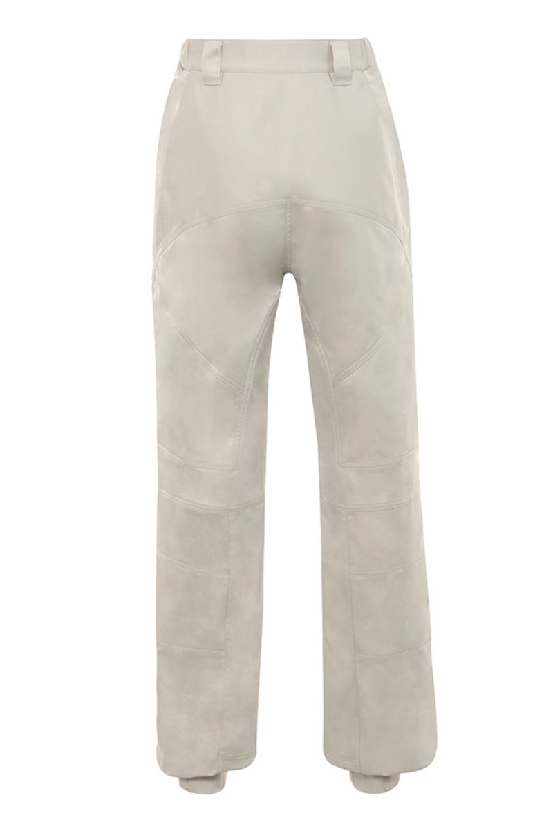show time trousers in stone
