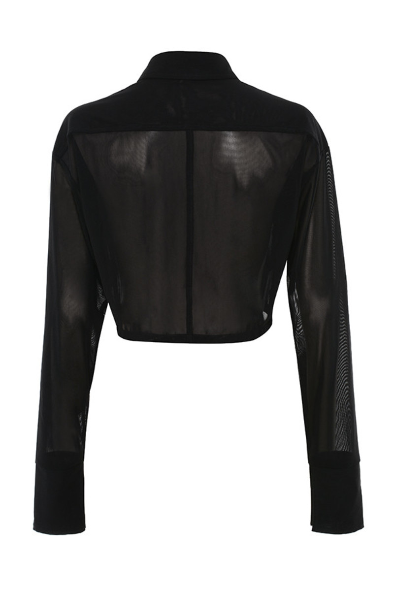 specialist top in black