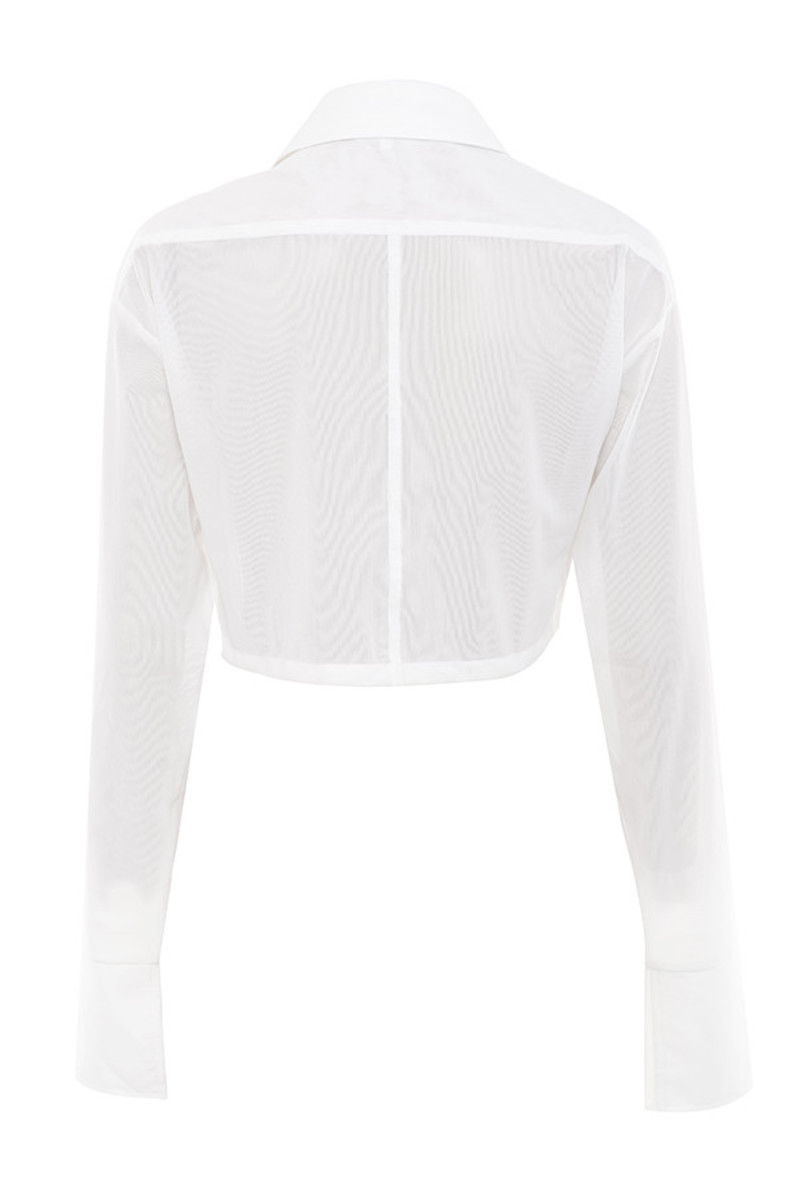 specialist top in white