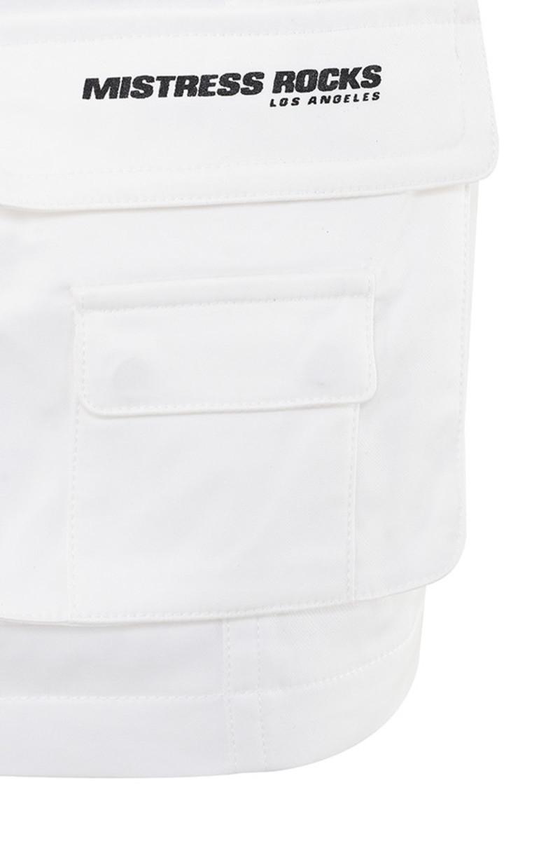white super sonic skirt