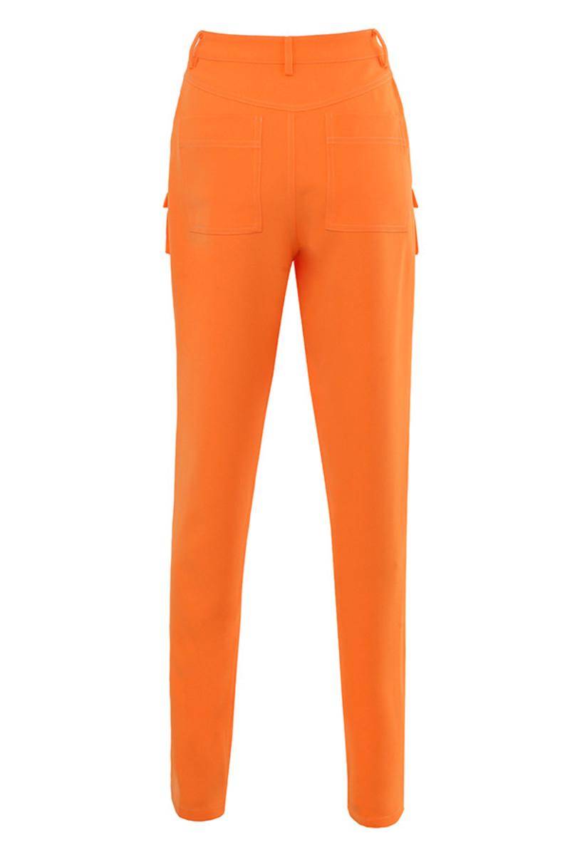 two to tango trousers in orange