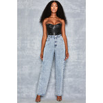 Discovery Slashed Side Jeans