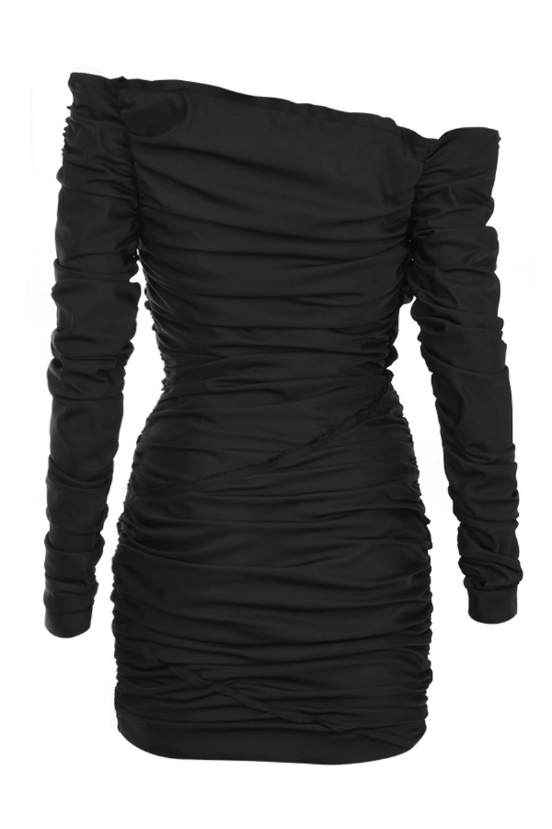 cult status dress in black