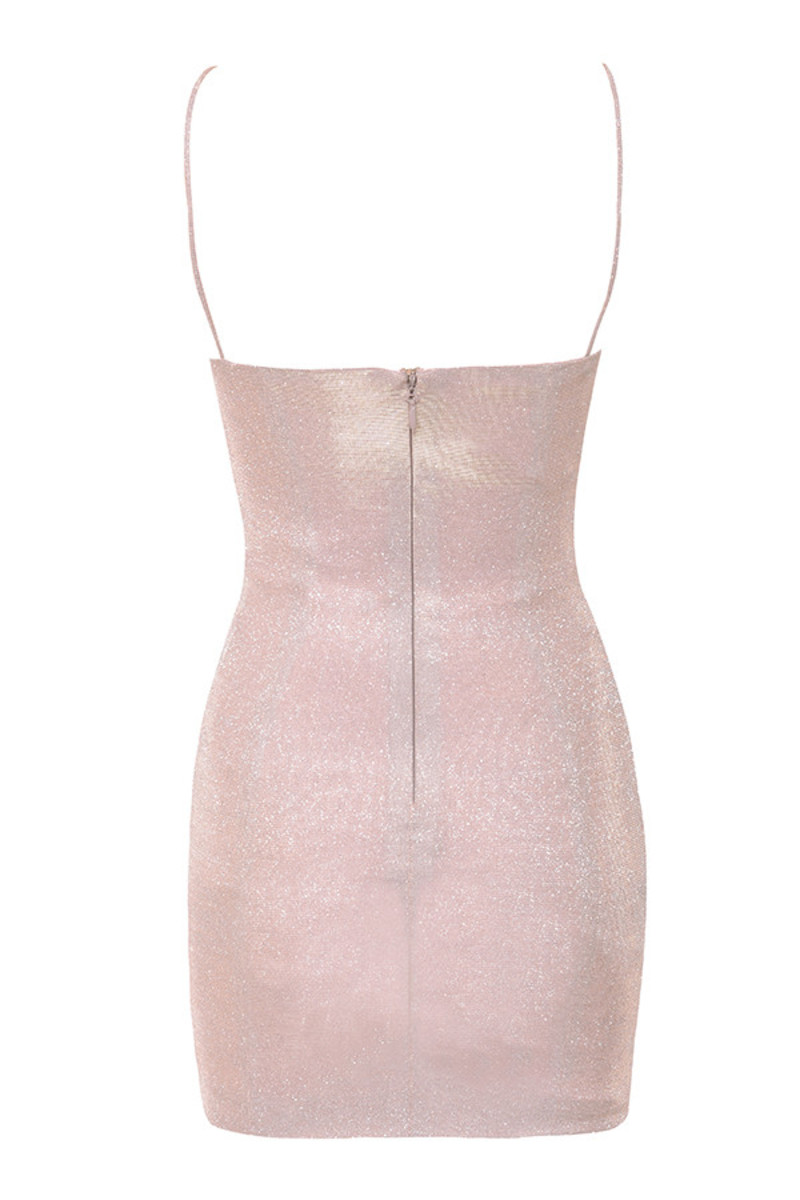 creed dress in pink