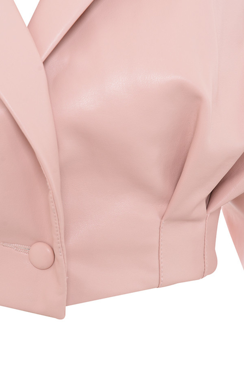 blush dive in jacket