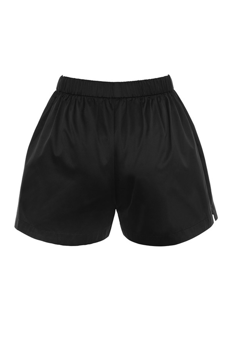 flightdeck shorts in black