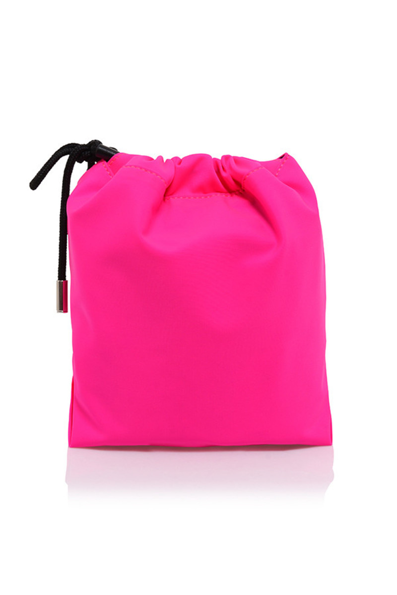 global bag in pink