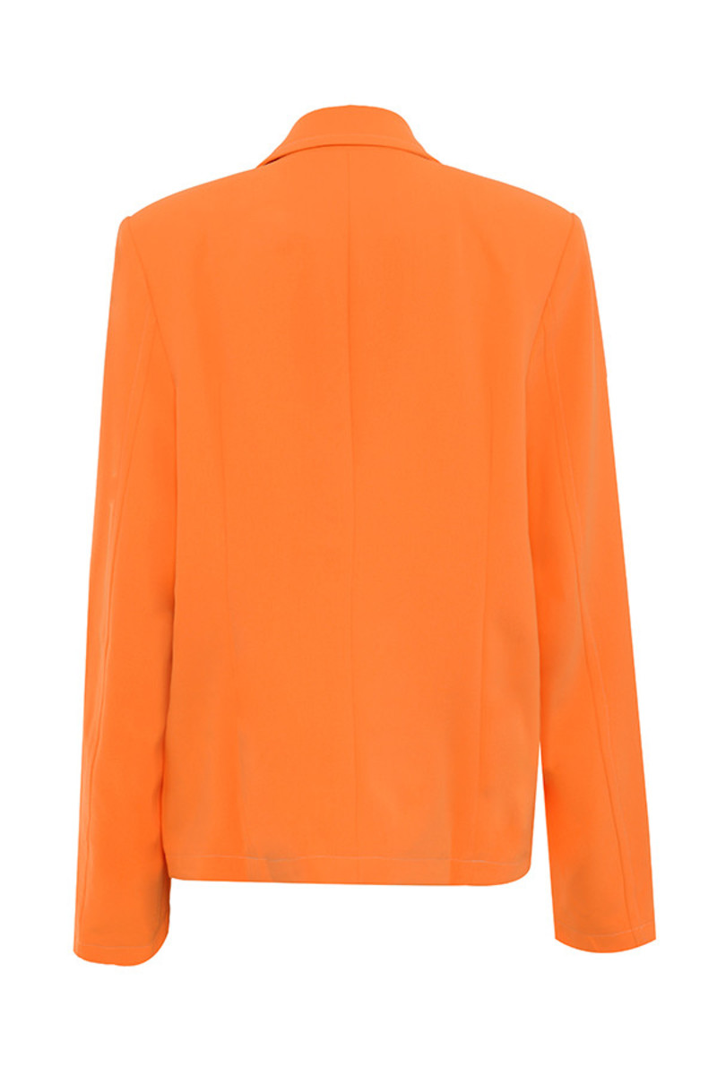 mainstream jacket in orange